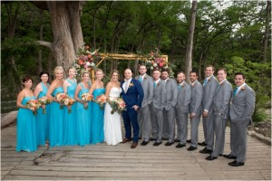 Rustic Peach & Teal Wedding at Old Glory Ranch