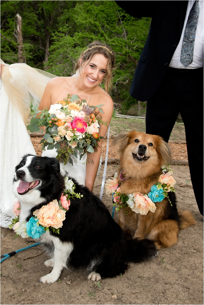 Bride-with-Puppies
