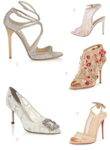 Tuesday Shoesday: 5 Wedding Shoes We Love