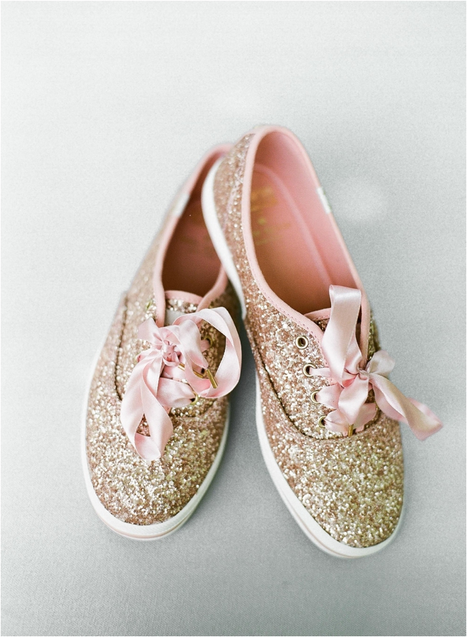 Gold-Sequin-Sneakers-for-bride