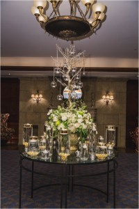 White, Gold, Champagne & Green Wedding at The Houstonian Hotel