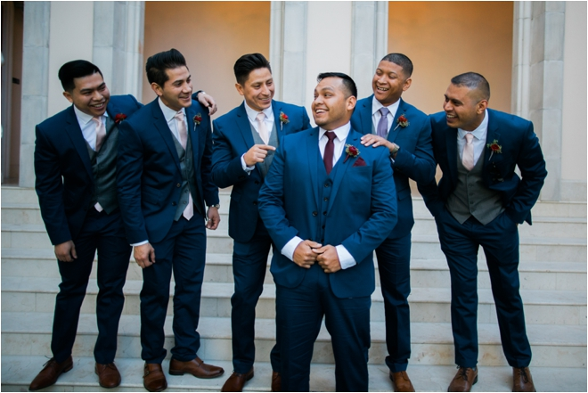 Navy-Groomsmen-Suits