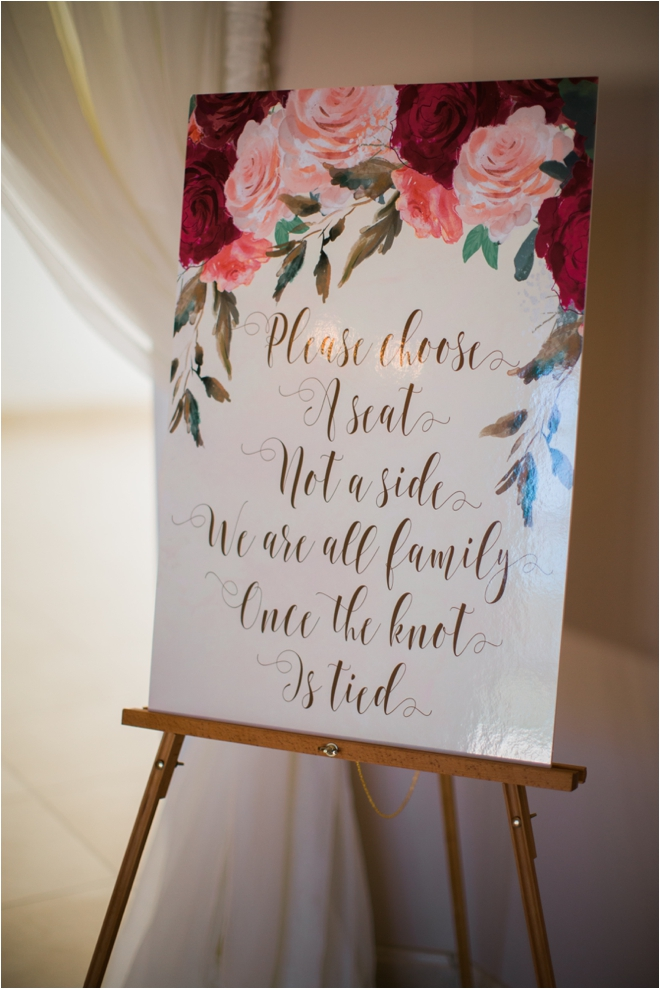 Floral-Wedding-Sign