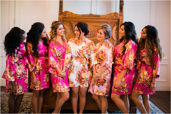 Floral-Bridal-Party-Robes