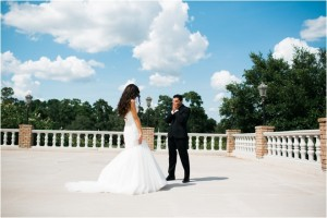 Jewel-Tone Art Deco Wedding by Civic Photos