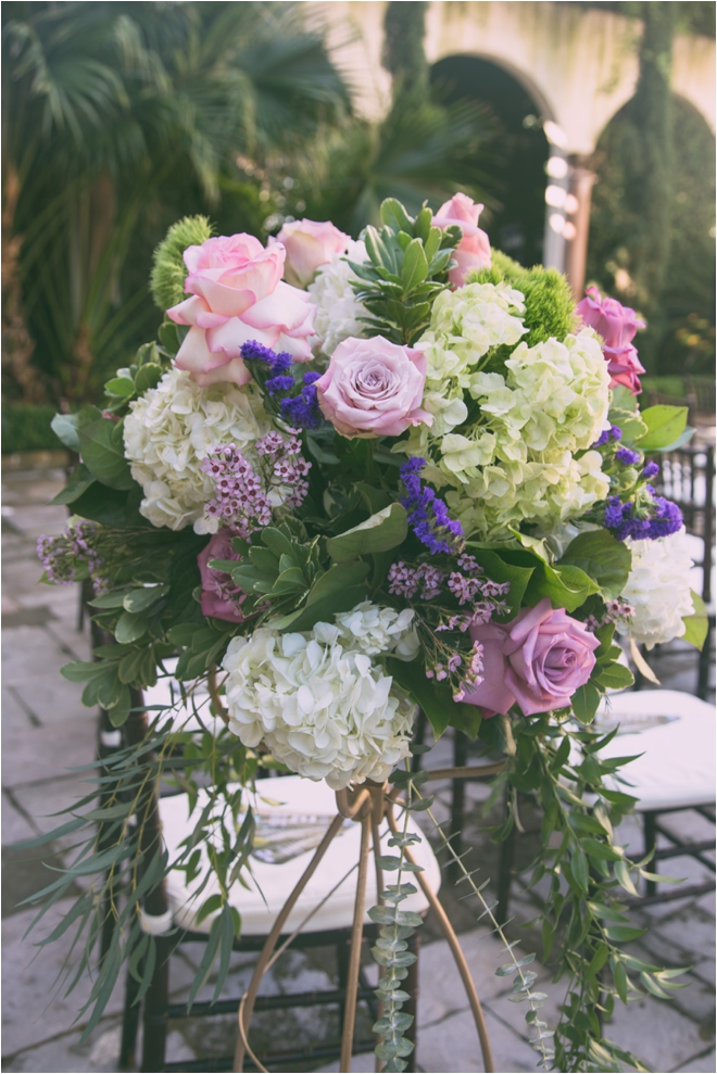 Purple-White-and-Green-Floral-Arrangement