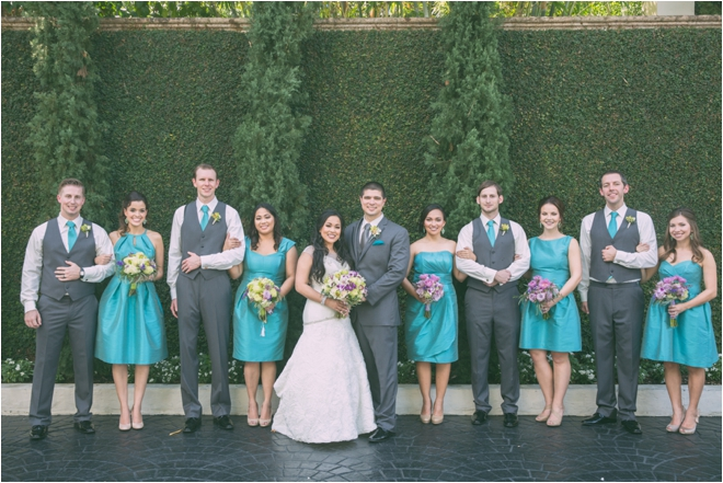 Teal-Bridesmaid-Dresses