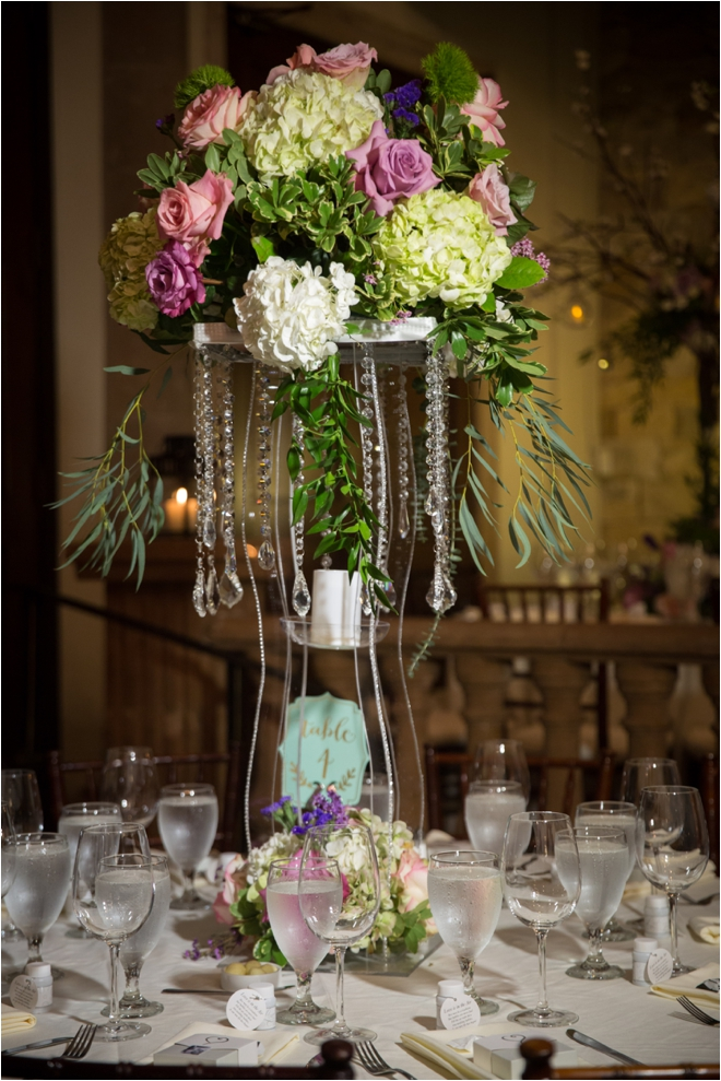 Green-and-Purple-Centerpieces
