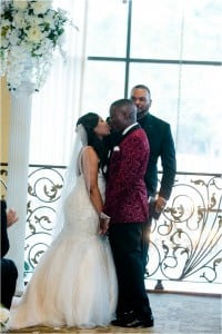 Burgundy, Ivory & Gold Wedding at Northgate Country Club