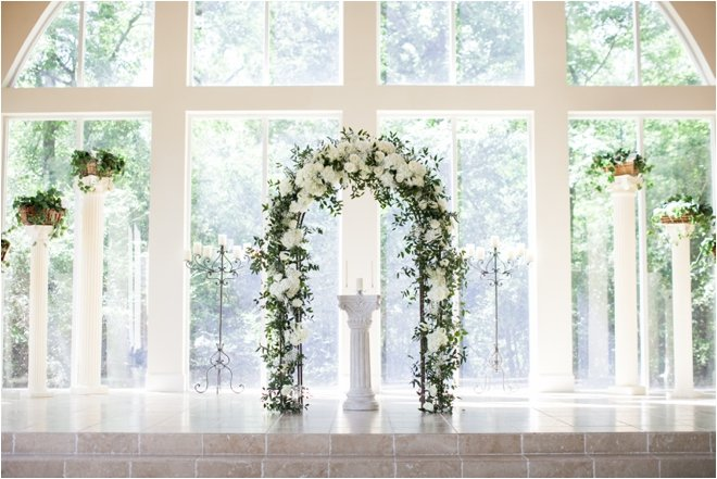 North Houston Woodlands Wedding Venue Ashton Gardens Chapel Windows Forest Glass Enclosed Church Ballroom White