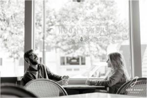 Joyful, Romantic Downtown Houston Engagement Shoot by Adam Nyholt