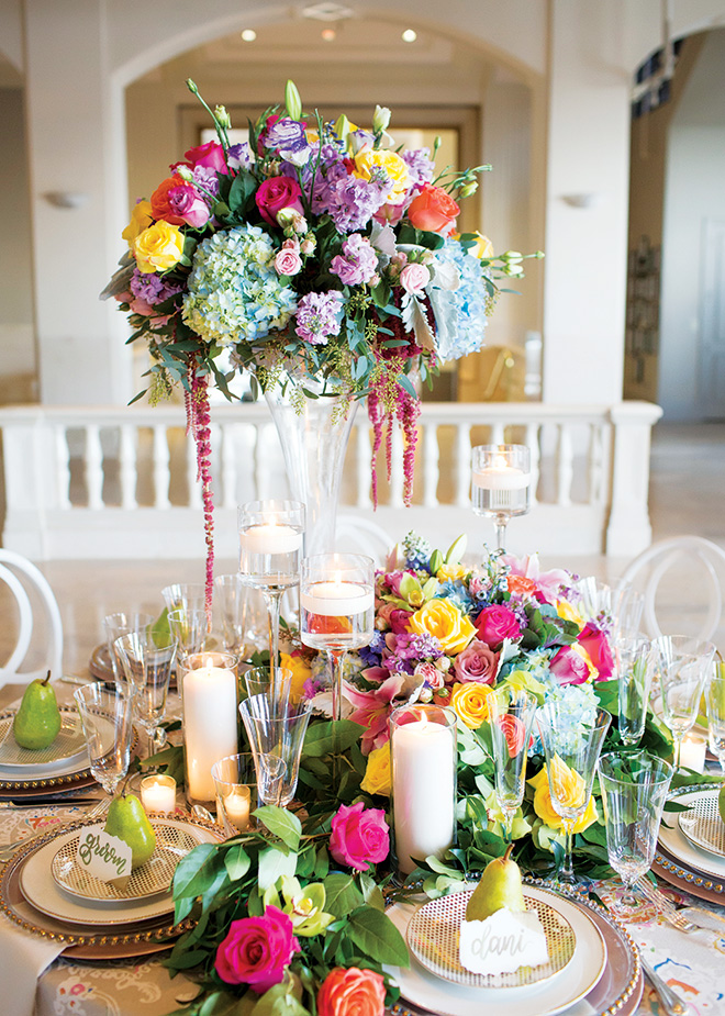 River Oaks Plant House Summer Wedding Table Design