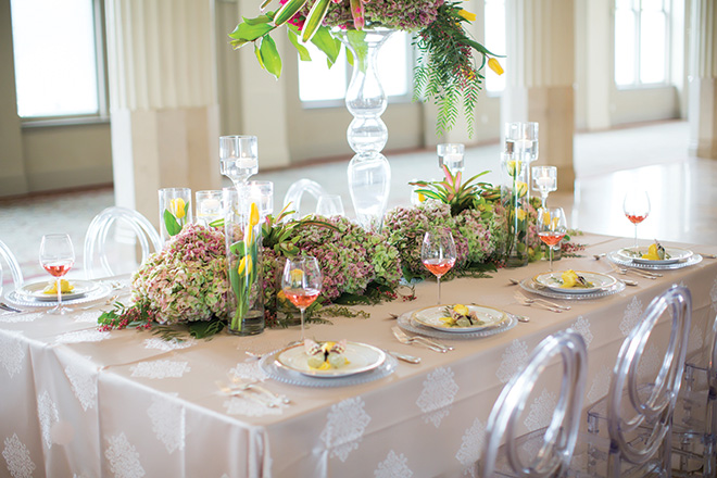 Spring Wedding Table Design Haute Flowers