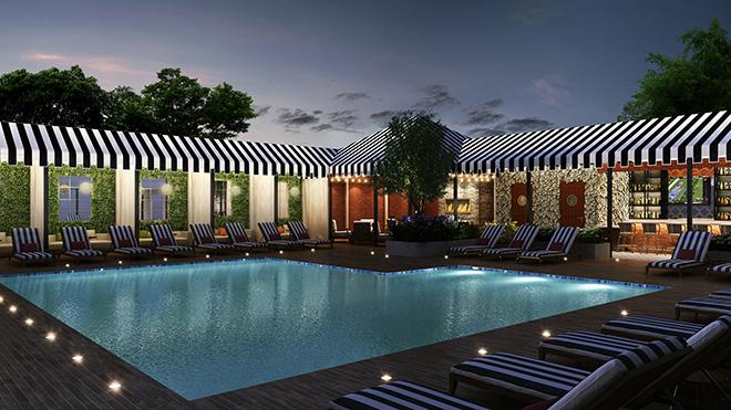 Houston Luxury Hotel Pool