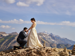 Wyoming Destination Wedding by Civic Photos