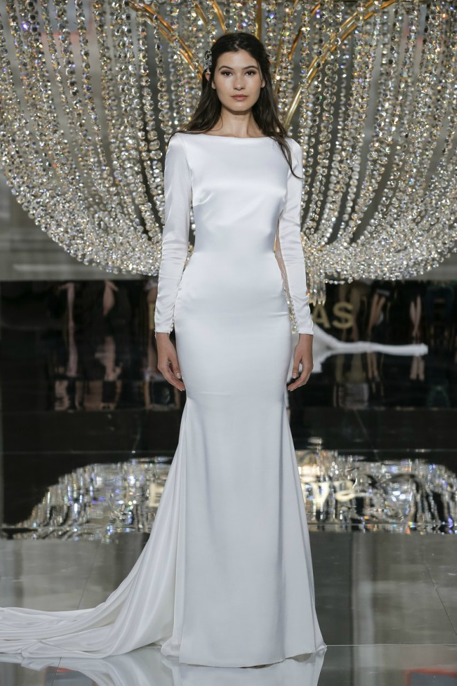 Pronovias Long Sleeve Gown 2018