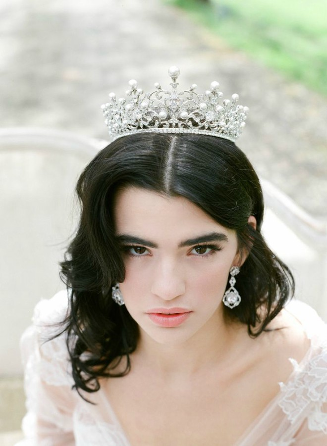 Eden Luxe Bridal Crown