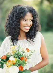 12 Bridal Hairstyles For Girls With Curls