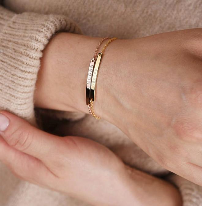 Custom Engraved Metal Bracelets