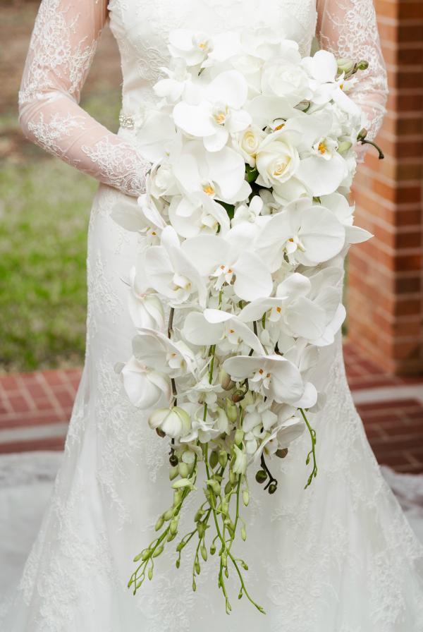 River Oaks Plant House Bridal Bouquet