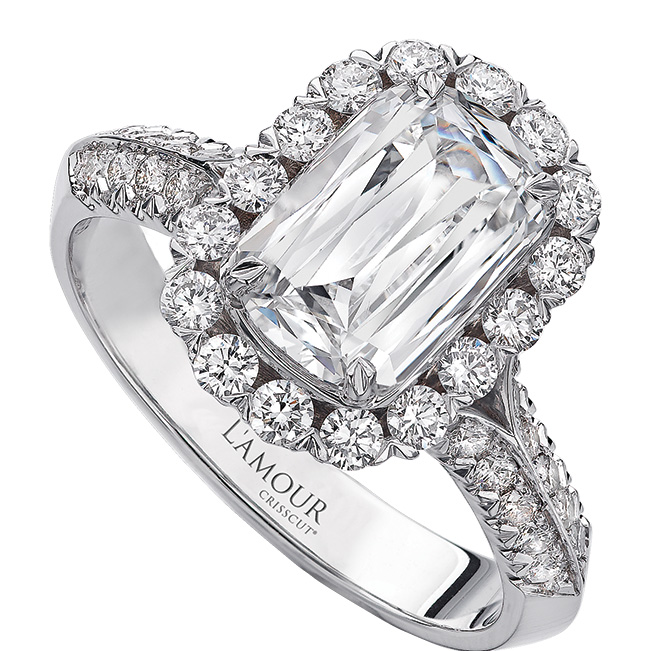L'Amour Olivia Collection Diamond Engagement
