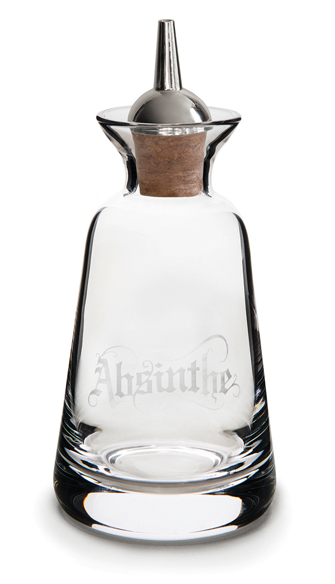 Cocktail Connection Finewell Bitters Bottle Gothic Style - Absinthe