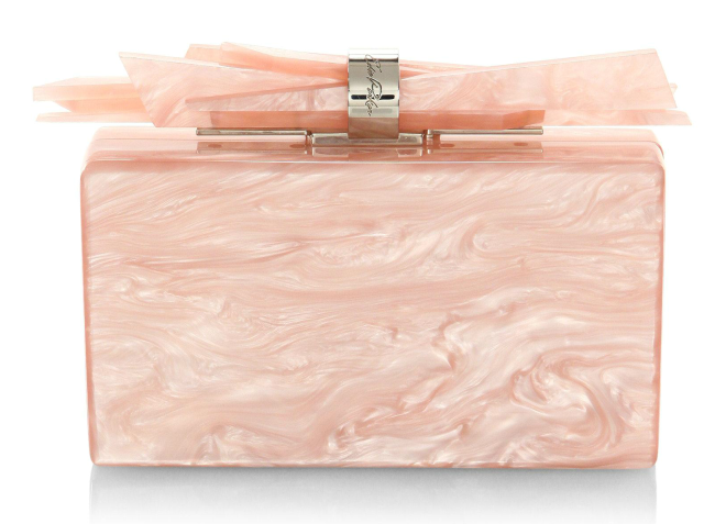 Marbled Acrylic Wolf Box Clutch