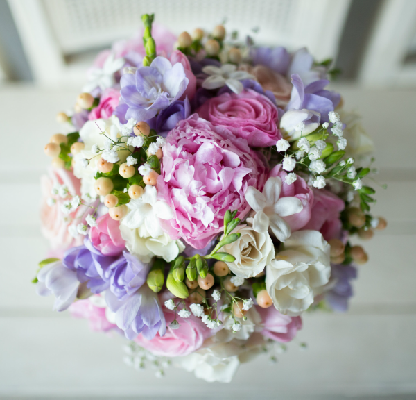 E Johnston Designs Bridal Bouquet