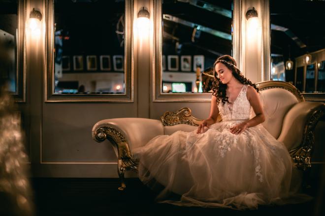 hughes manor, bridal shot