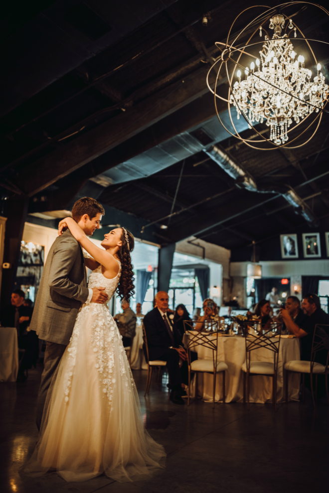 Hughes Manor, First Dance, Bride and Groom