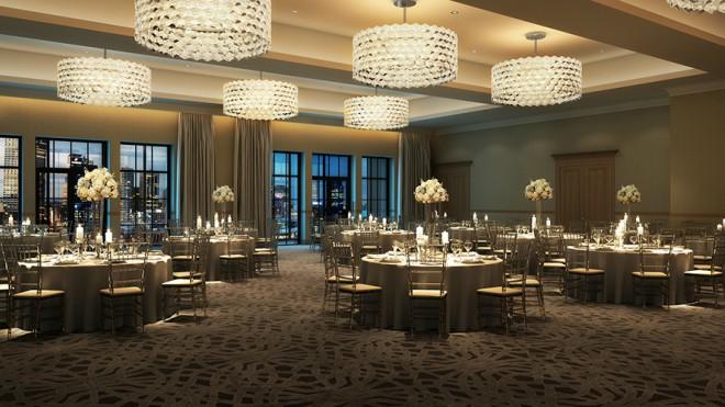 Houston Luxury Hotel Memorial City Wedding Venue Ballroom