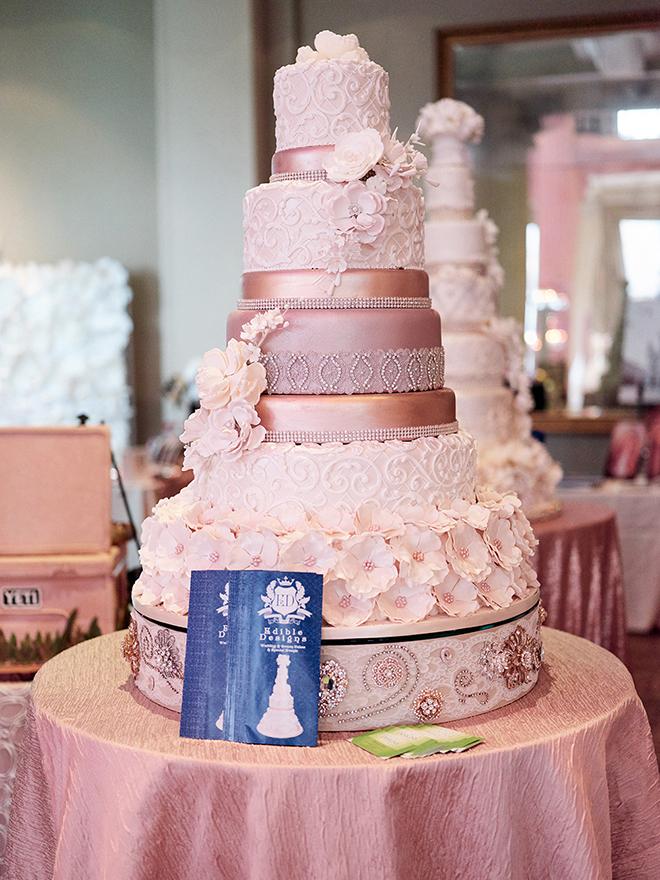 Edible Designs Wedding Cake