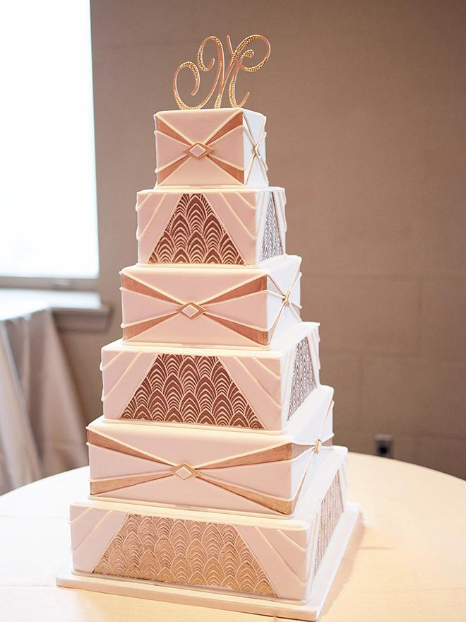 Susie's Cakes Deco Wedding Cake