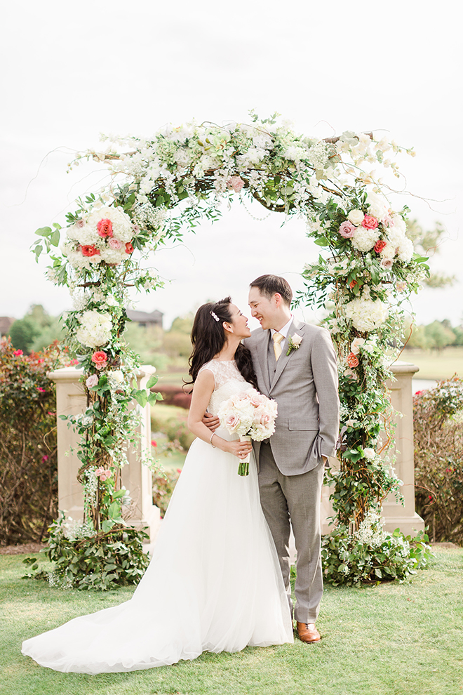 Haute Flowers Garden Wedding Texas