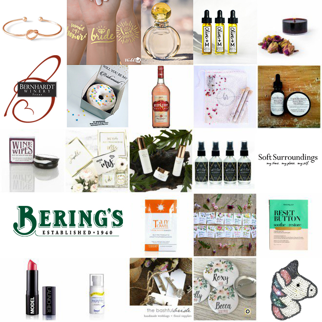 I Do Soiree 2018 Gift Bag Brands