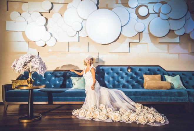 JW Marriott Houston Downtown Lobby Wedding