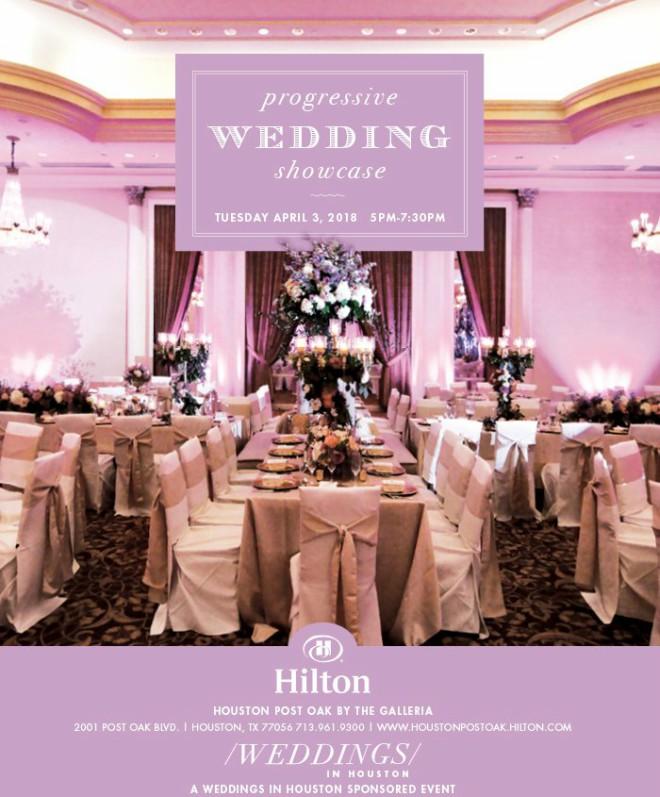 Hilton Houston Post Oak Wedding Showcase Bridal Open House April