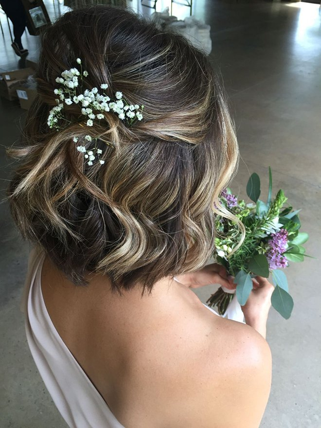 Wedding Hairtstyles, Short Hair