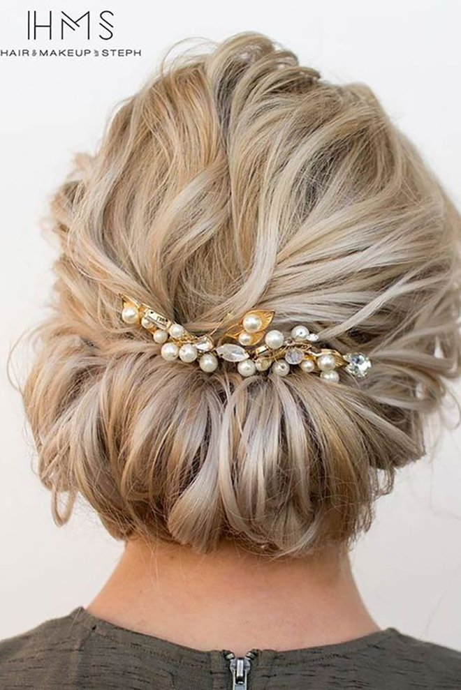 12 Wedding Hairstyles For Short Hair Houston Wedding Blog