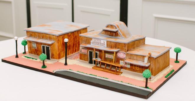 3D Groom Cake Gina Houston