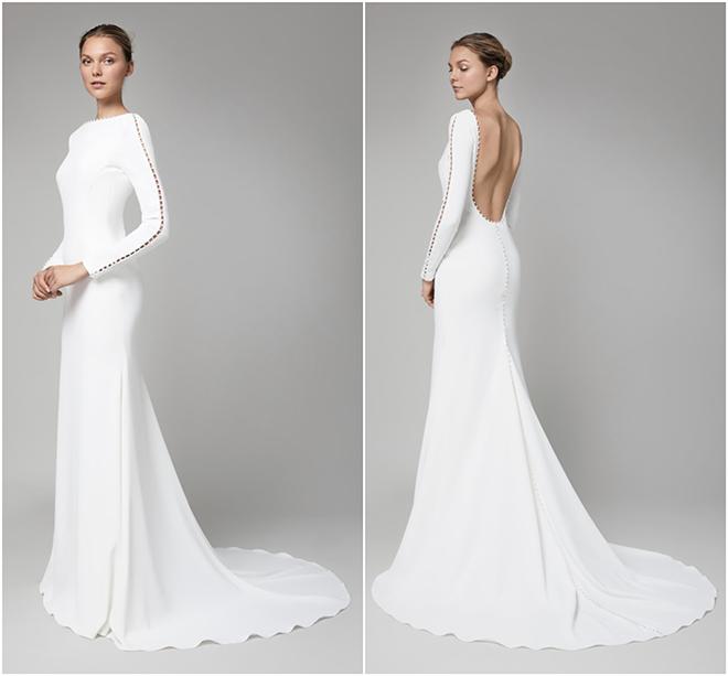 Royal Wedding, Meghan Markle, Prince Harry, Givenchy, Long Sleeve Gown, White Wedding Dress, Lela Rose