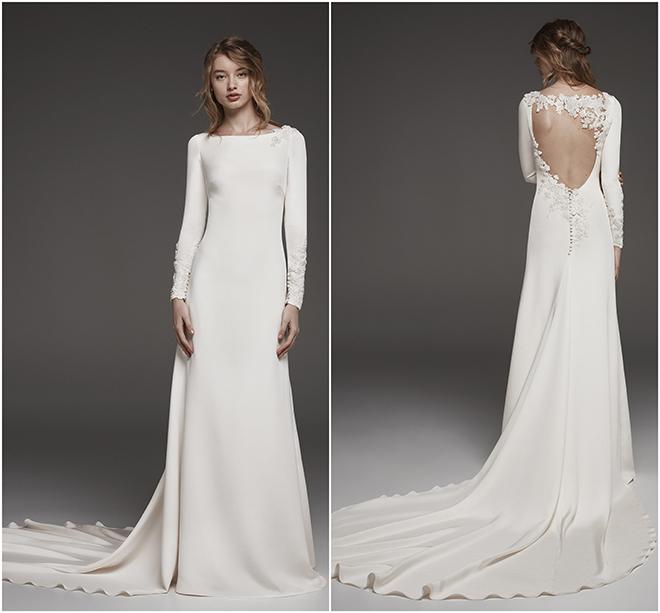 Royal Wedding, Meghan Markle, Prince Harry, Givenchy, Long Sleeve Gown, White Wedding Dress, Pronovias Atelier
