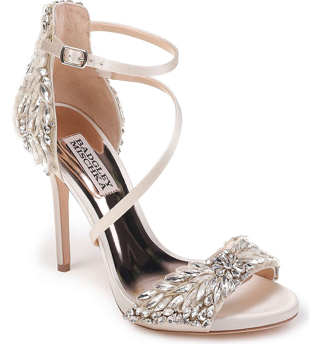 Wedding Heels, Bridal Shoes, Comfort, Comfortable Heels, Designer Heels, Badgley Mischka