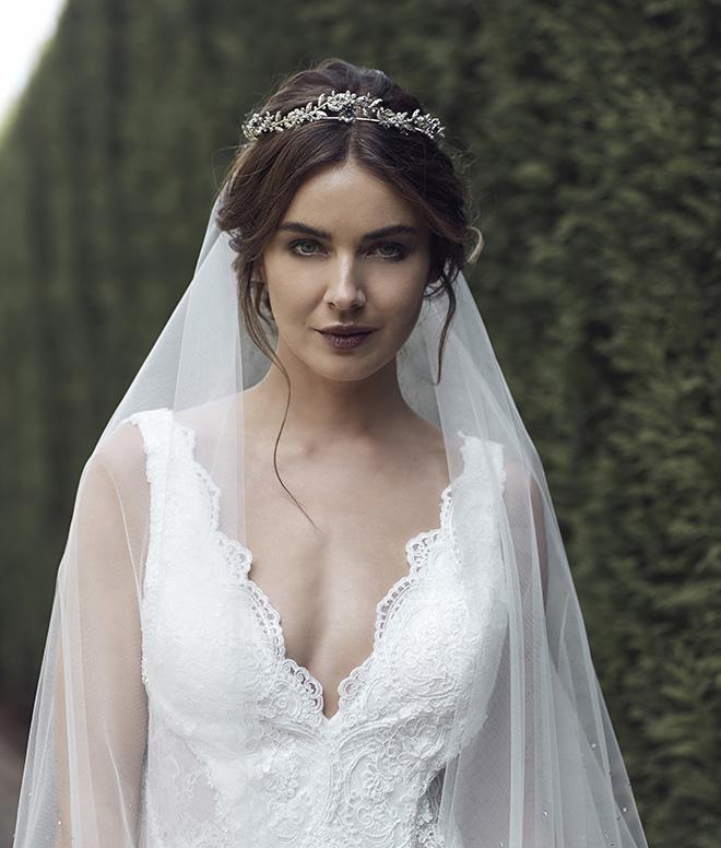 Tania Maras, Tiara, Bridal headpieces, headpieces, silver