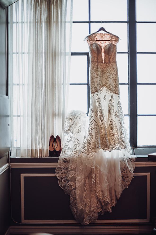 Real Wedding, Houston Couple, Newlywed, The Astorian, Ama by Aisha, Winter Wedding, Red Wedding, Marine, Military, Cordua Catering, Cakes By Gina, Bridal Attire, Wedding Dress