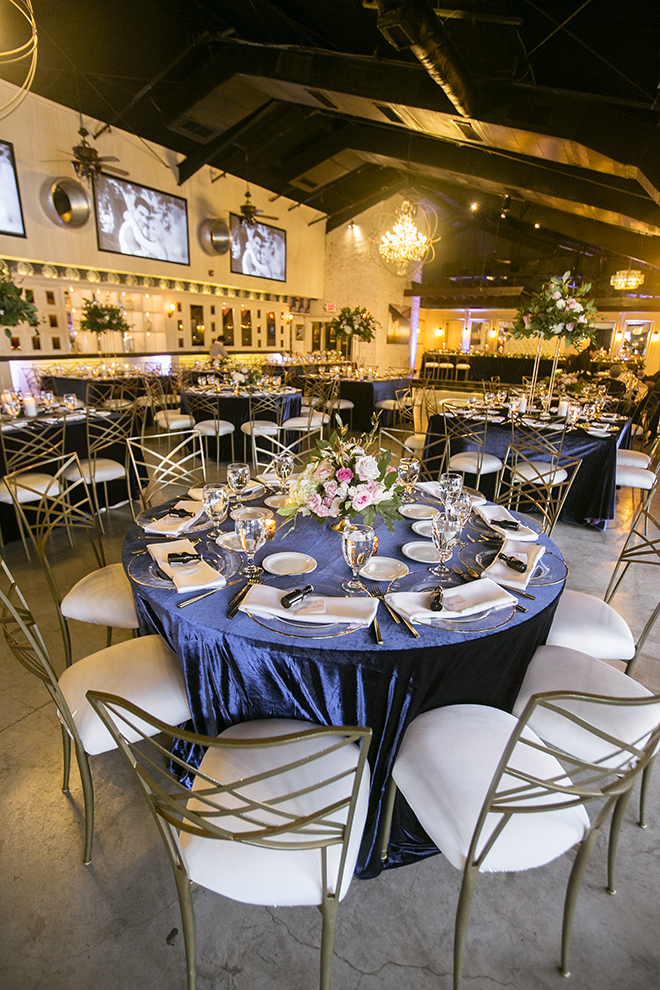 Houston, Real Wedding, Newlywed, Hughes Manor, Outdoor and Indoor Venue, Winter Wedding, Pink, Gold, White, Young Couple, Meeker Pictures, Hughes Manor, Cakes by Gina, Cordua Catering, Winnie Couture, Bella Bridesmaids, Reception Decor, Reception Setup