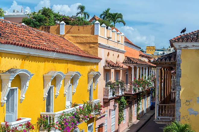 Cartagena, Colombia, South America, Latin, Honeymoon, Destination, international, honeymoon destinations