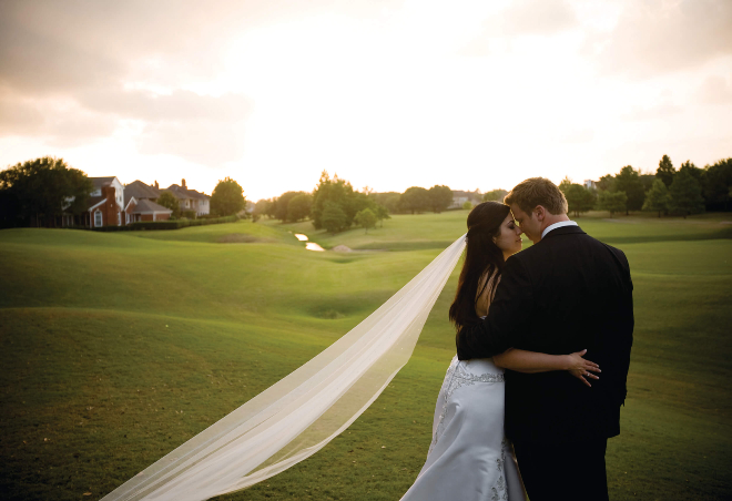 Houston country club wedding Sweetwater