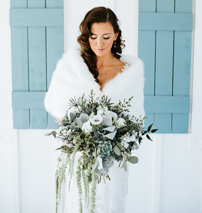 wedding bouquet, gray, white, rustic, blooms design studio, bridal bouquets