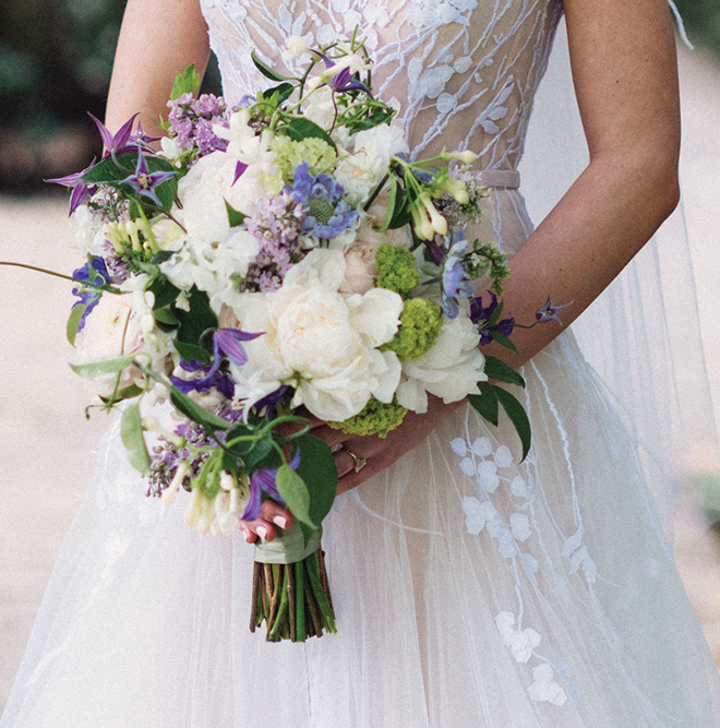 wedding bouquet, inspiration, purple, white, blue, bridal bouquets